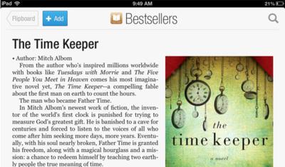 Flipboard nos permitirá descubrir libros de la iBooks Store