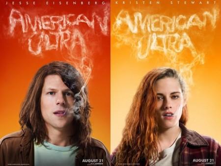 'American Ultra', tráiler y carteles de la comedia con Kristen Stewart y Jesse Eisenberg