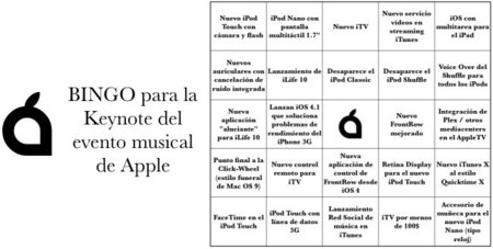 Bingo para la keynote musical de mañana 01/09/2010