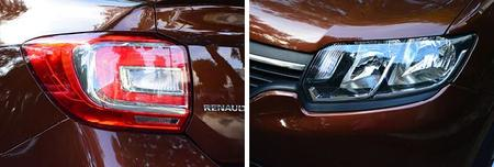 Renault Logan Luces