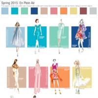 Los colores de primavera de Pantone, ahora también en tus uñas