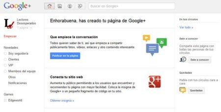 Google+ a fondo: cuatro primeros pasos que dar con tu página