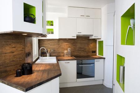 Apartamento parís - cocina