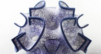 Impresión en 3D con azúcar y chocolate