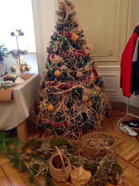 Arbol Rustico Navidad Carrefour