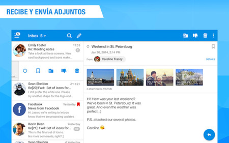 Apps Correo Rumail