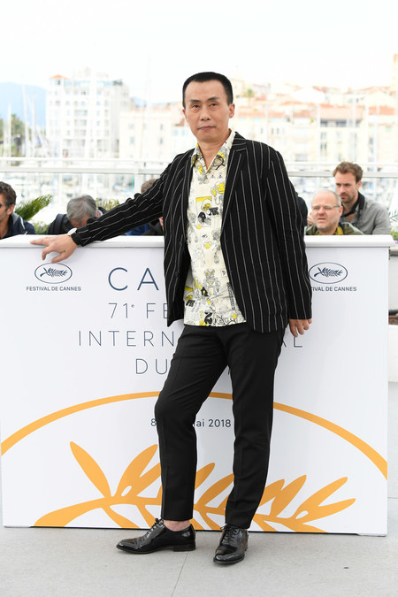 Yongzhong Chen Long Day S Journey Into Night Di Qui Zui Hou De Ye Wan Photocall The 71st Annual Cannes Film Festival