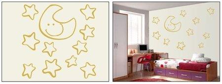 estrellas dorado