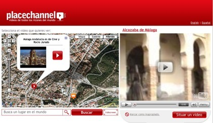 PlaceChannel, geolocalizando vídeos