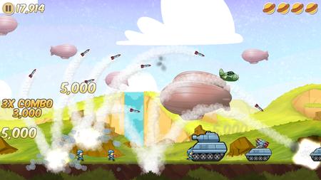 Bombardea a tus amigos con salchichas en 'Sausage Bomber': App de la Semana