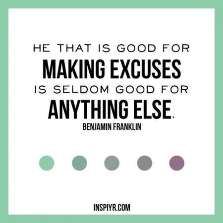 Excusas tontas que nos impiden obtener buenos resultados