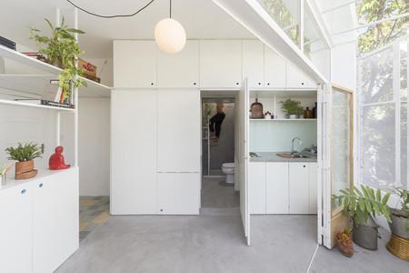 Este moderno apartamento de 25 metros cuadrados en Buenos Aires es una joya de funcionalidad y optimización de recursos