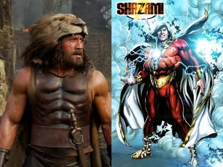Dwayne Johnson estará en 'Shazam!'