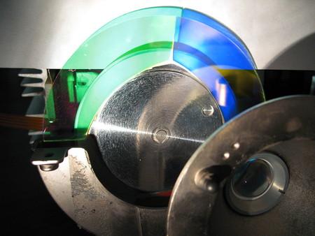 rueda de color proyector DLP