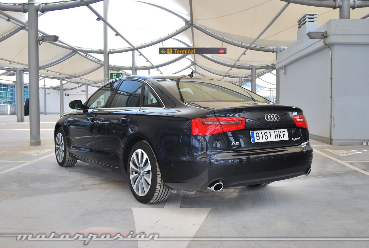 Foto de Audi A6 hybrid (prueba) (27/120)