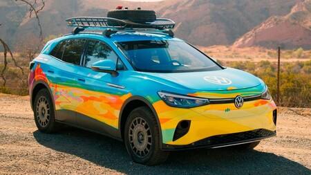 El Volkswagen ID.4 GTX está más que listo para debutar en su primer rally