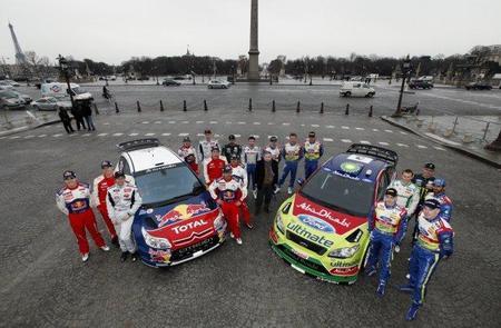 Sébastien Loeb y Mikko Hirvonen serán los números uno de Citroën y Ford