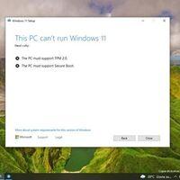 Windows 11 será exigente en los equipos que pueden actualizar: si tu PC no cumple con estos requisitos, lo tendrás muy difícil