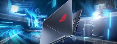Portátil gaming Asus Rog Strix Scar con i7 8750H, 16GB de RAM, 1TB+ 256GB SSD y GTX1050Ti de oferta en eBay: 799 euros