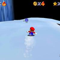 Super Mario 64: cómo conseguir la estrella Slip Slidin' Away de Cool, Cool Mountain