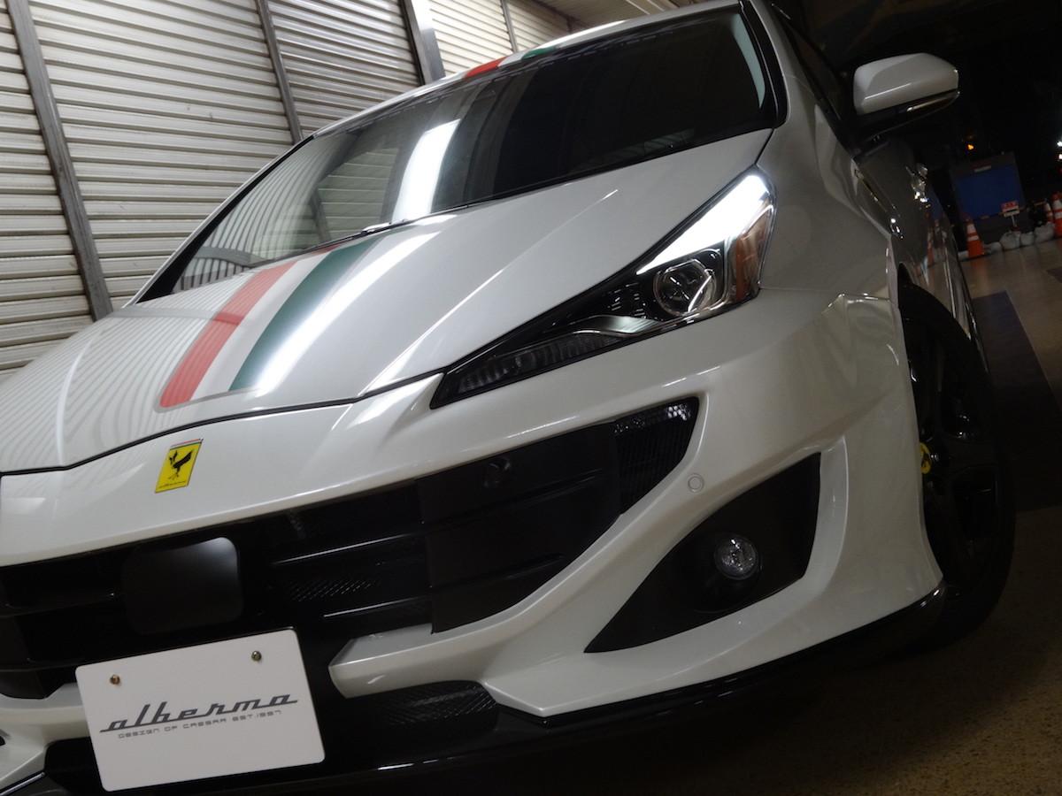 Foto de Toyota Prius convertido a Ferrari FF (9/33)