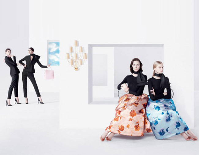 Dior primavera 2013 by Willy Vanderperre