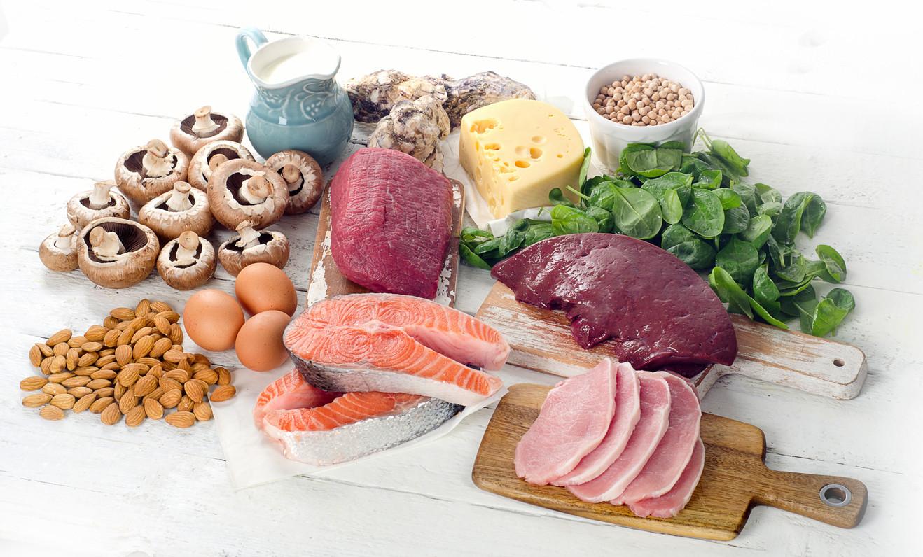 alimentos con mucha vitamina b5