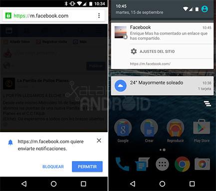 Facebook Chrome