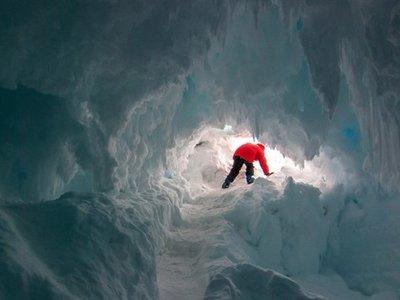 En cuevas calientes de la Antártida se hallan extrañas trazas de ADN