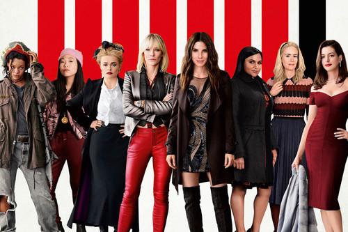 Taquilla: 'Ocean's 8' triunfa en EE.UU. y valida la fórmula del reboot femenino; 'Jurassic World: El reino caído' arrasa en España