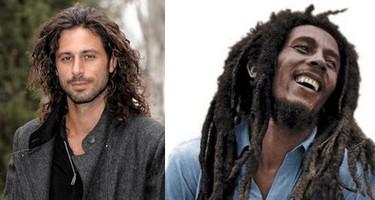 Parecido irracional: Hugo Silva y Bob Marley