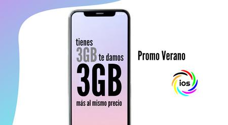 IOS también regala datos este verano: el doble de gigas gratis en sus tarifas móviles más económicas