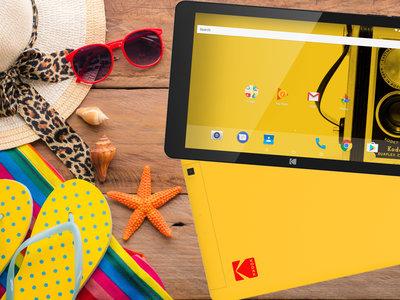 Las Kodak Tablet de 7 y 10 pulgadas llegan a Europa: precio y disponibilidad oficiales