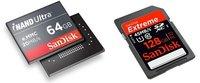 SanDisk presenta sus iNAND Ultra y SDXC Extreme de 64 y 128 GB