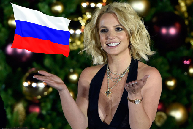 Britney Spears Russia