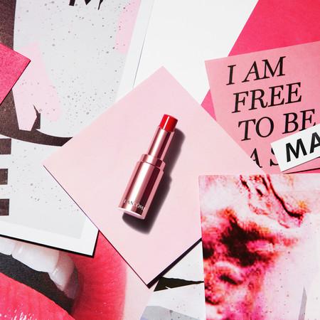 Que tus labios sean los protagonistas con los nuevos labiales L'Absolu Mademoiselle Shine de Lancôme
