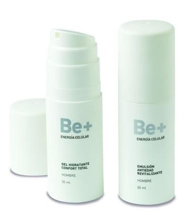 Be+ energía celular, dermocosmética específica para hombres con piel sensible