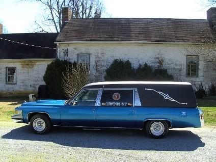 La limusina fúnebre, a la venta en eBay