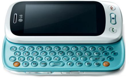 LG GT350, teclado QWERTY y pantalla táctil para los más jóvenes