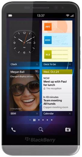 Blackberry Z30, conocida como A10 o Aristo, será su smartphone de mayor tamaño