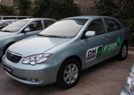 BYD F3 DM, el primer coche híbrido chino