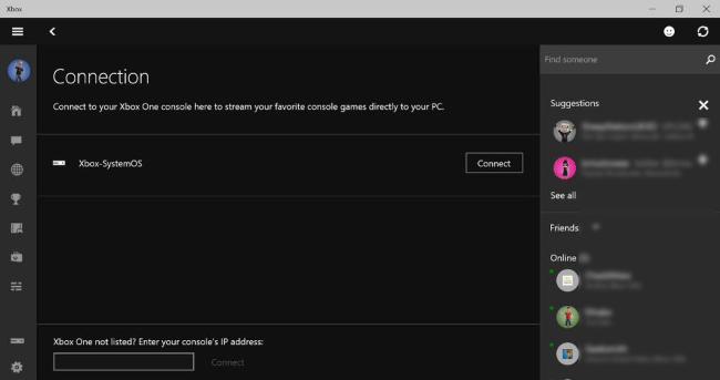 Xbox One Streaming Windows10