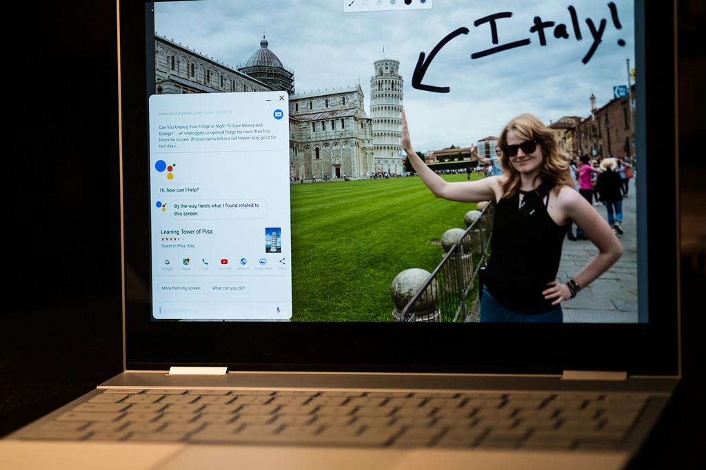 Pixelbook Google® Assistant