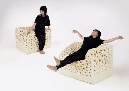 Breathing Chair, la silla que hará las visitas eternas
