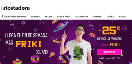 Día del Orgullo Friki en La Tostadora: 25% de descuento con este cupón