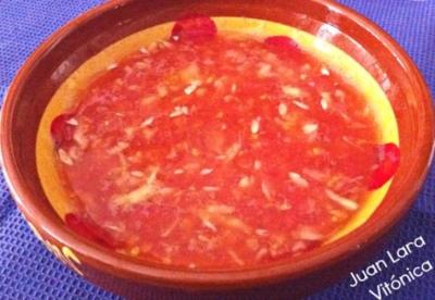 Gazpacho de pepino. Receta saludable