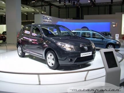 Dacia desvela los precios del Sandero en el Salón de Madrid