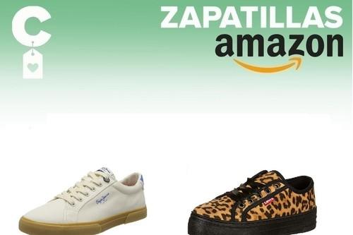 12 chollos en tallas sueltas de zapatillas Tommy Hilfiger, Levi's o Pepe Jeans por menos de 40 euros  en Amazon