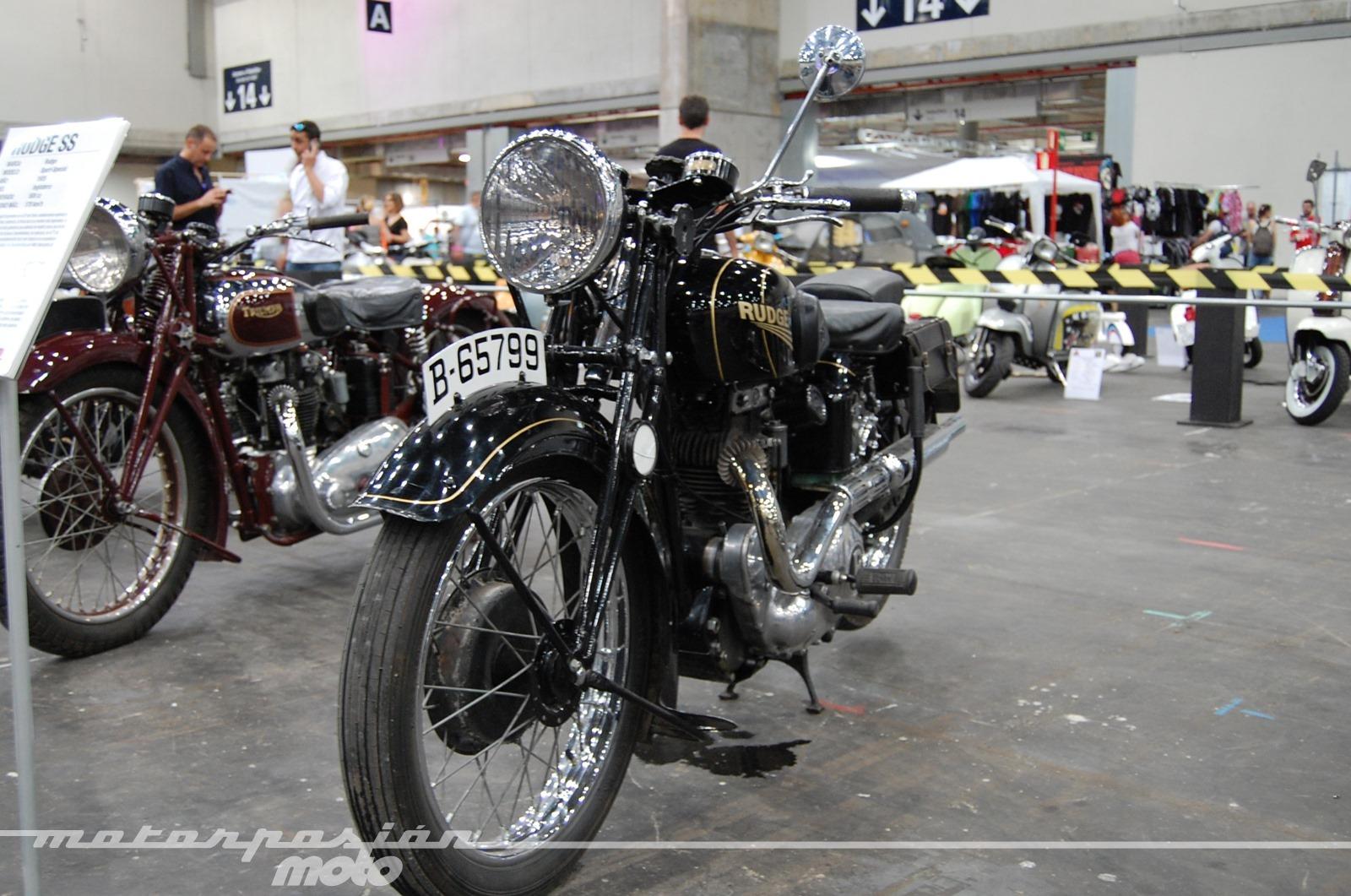 Mulafest 2014, exposición de motos clásicas