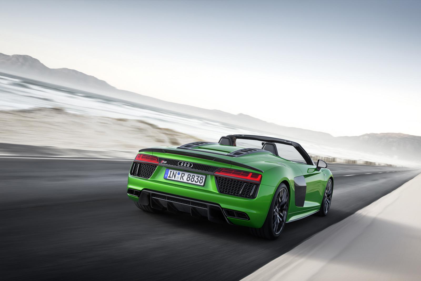 Foto de Audi R8 Spyder V10 Plus (7/10)
